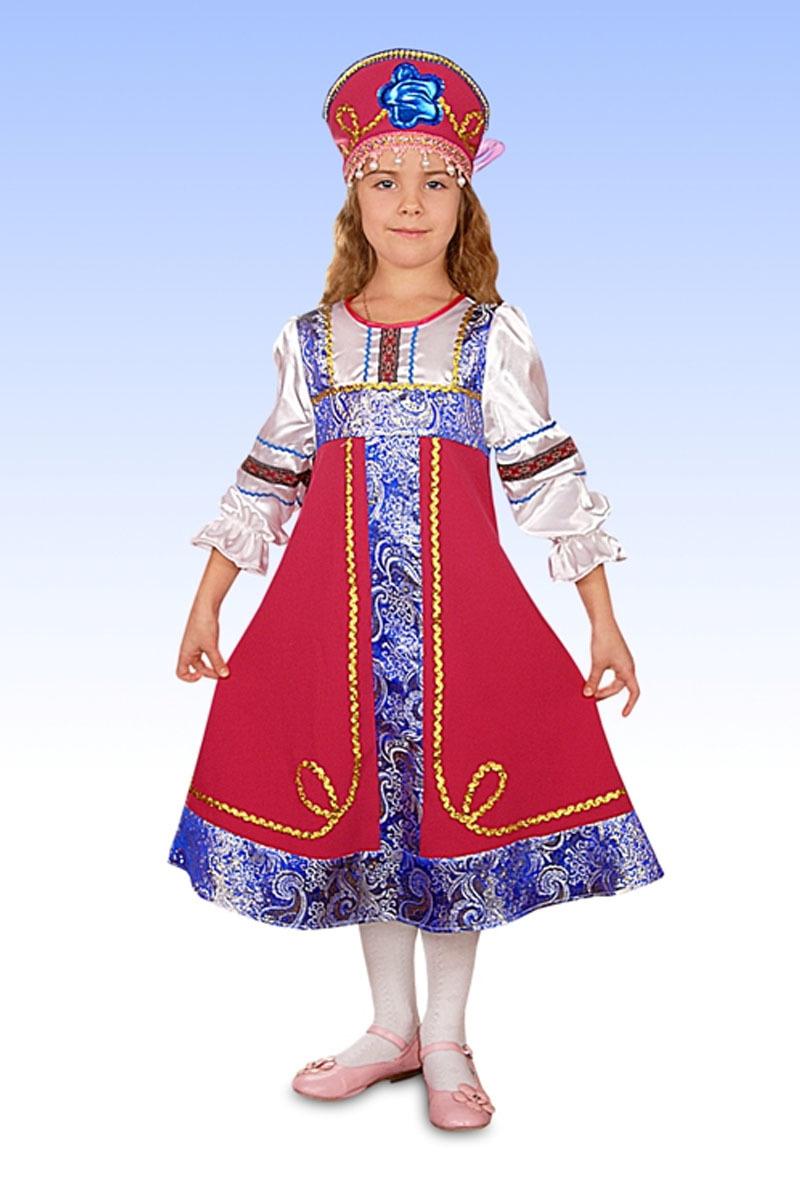 Русский народный костюм для ребенка фото