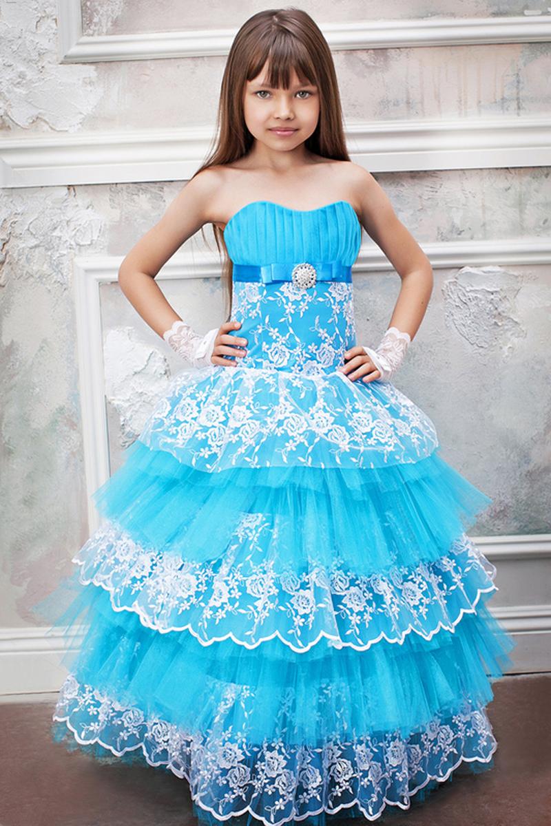 Посмотреть детских платьев